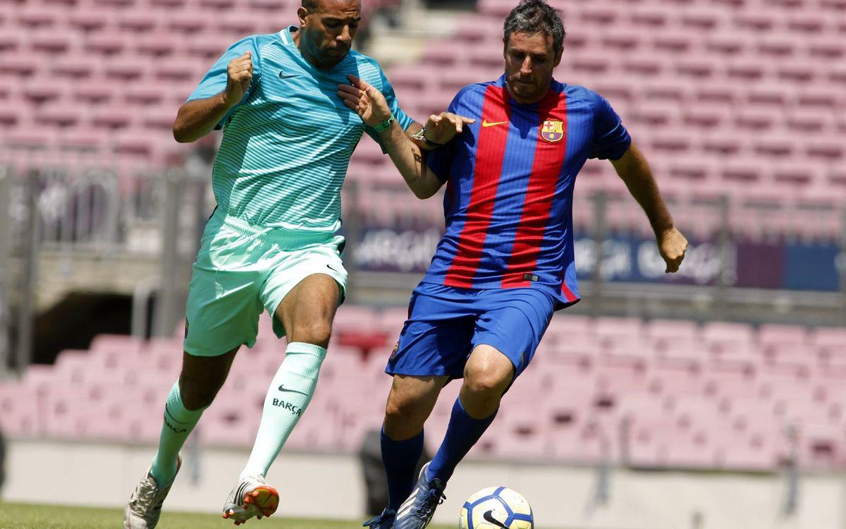 L'Agrupació celebra el final de temporada al Camp Nou.