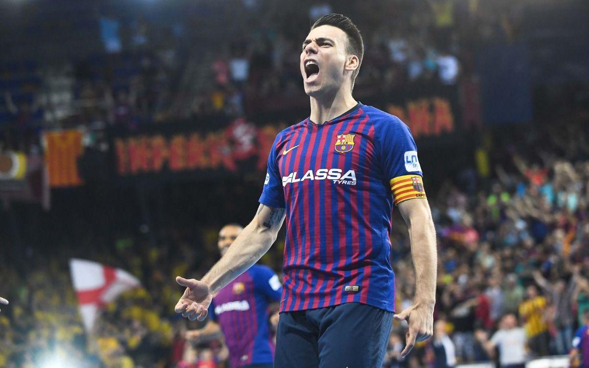 Barça Lassa 3 –2 ElPozoMúrcia: Liga Champions!