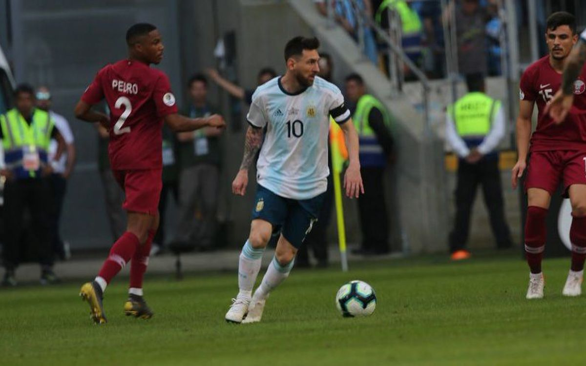 Argentina, into the Copa América quarterfinals