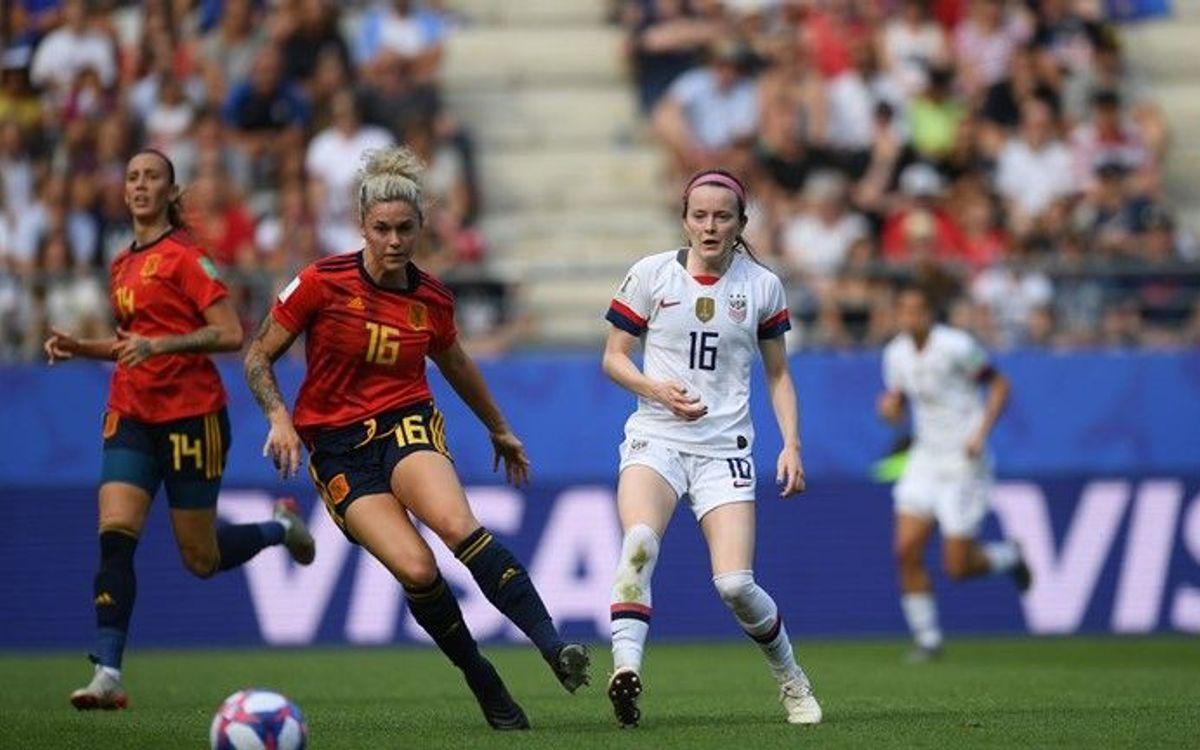 La selecció espanyola, eliminada del Mundial (1-2)