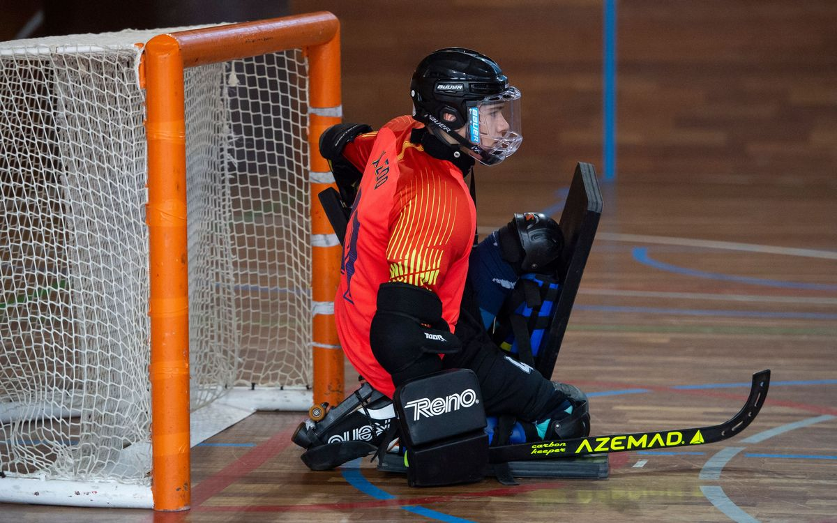 Tres azulgranas, en la competición U19 de hockey patines de los World Roller Games