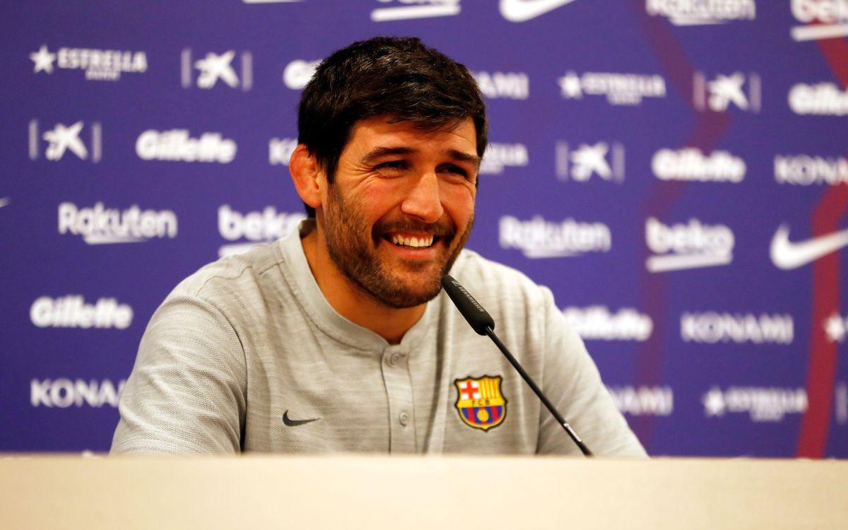Sergi Guerrero y Felipe Martínez seguirán al frente del Barça Rugby