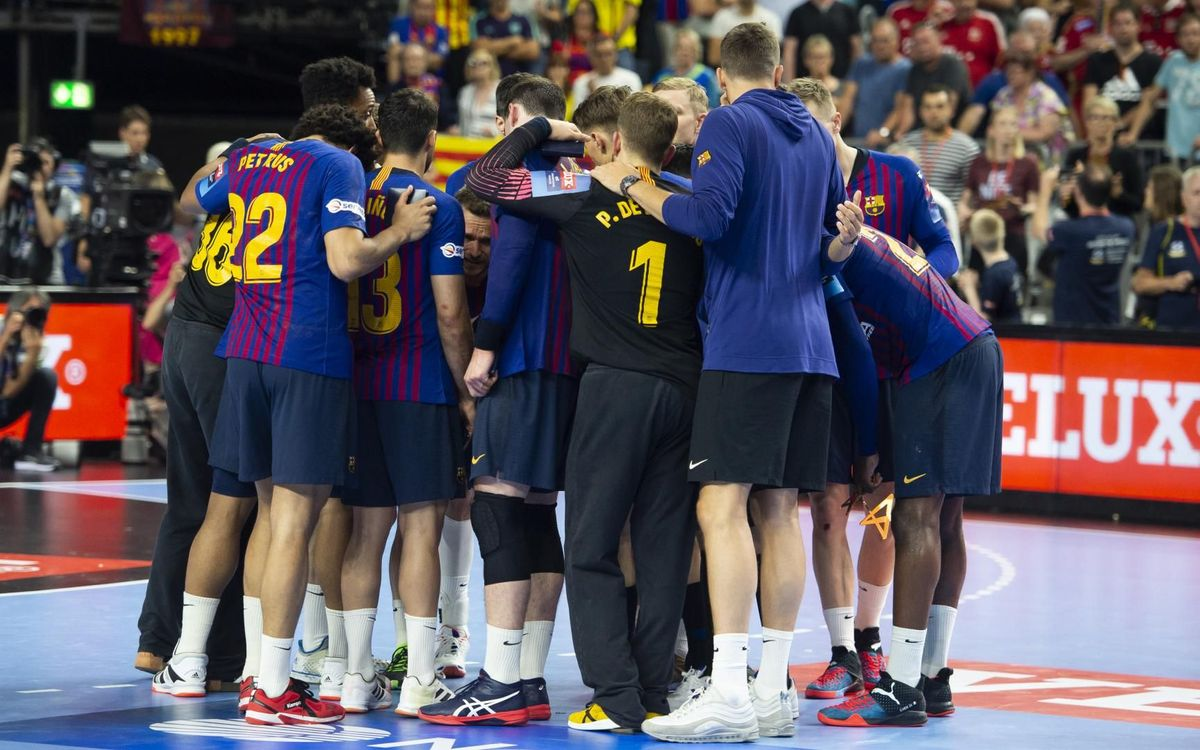 Definida la fase de grupos del Barça Lassa en la Velux EHF Champions League