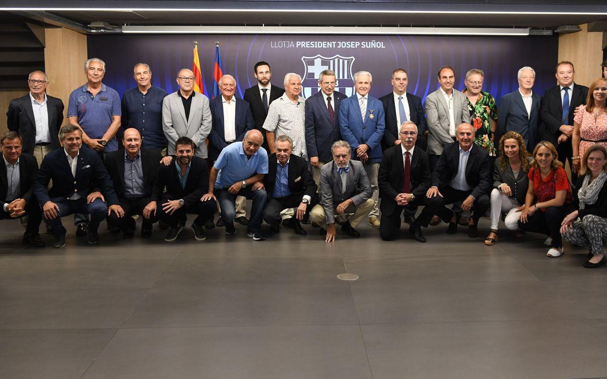 Hongria distingeix Ramon Alfonseda per la preservació de la memòria de Kubala, Czibor i Kocsis