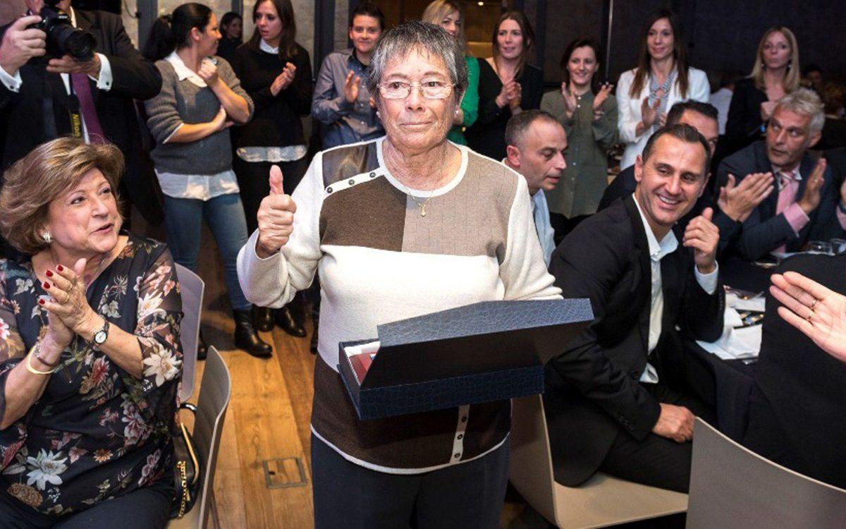 Muere Núria Llansà, una de las pioneras del fútbol femenino del Barça