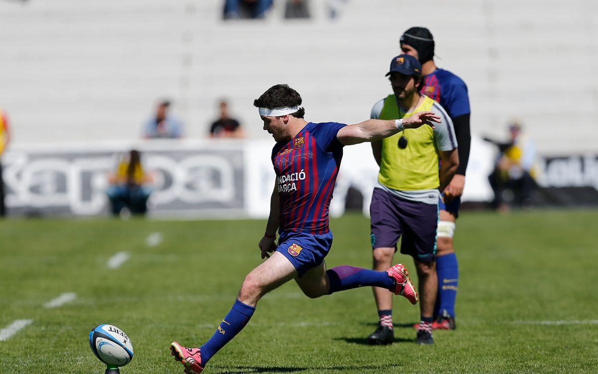 Bautista Güemes, Martín García y Michael Hogg continuarán en el Barça Rugby