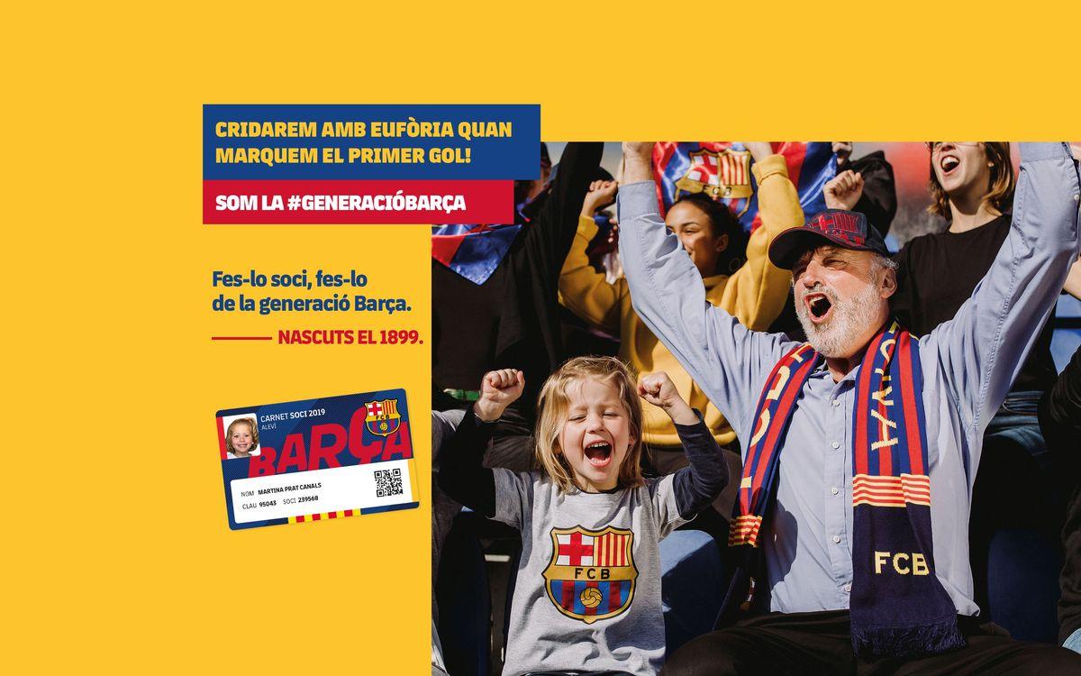 Nova generació Barça