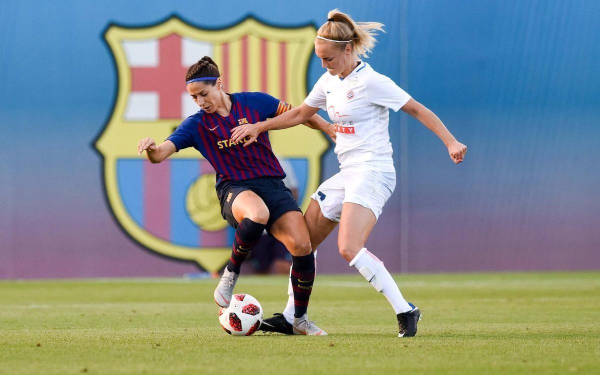 El Barça Femenino jugará en Montpellier esta pretemporada