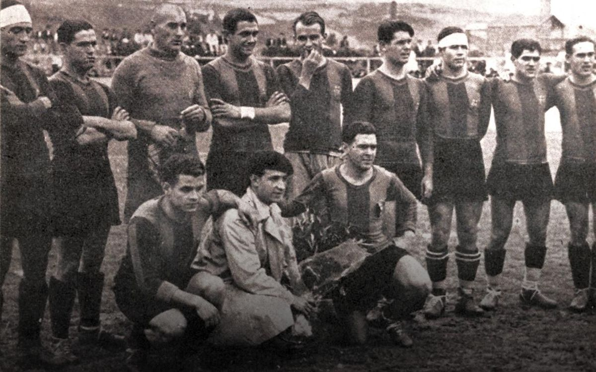 90 years since the conquest of the first league