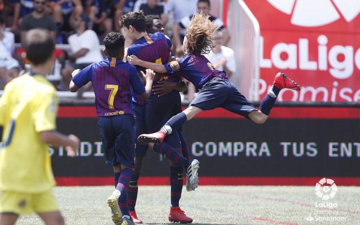 L'Aleví A, a les semifinals de la LaLiga Promises