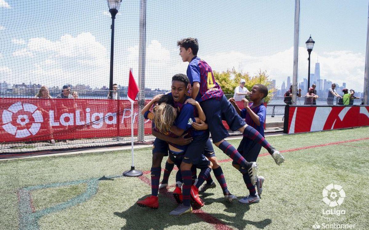 Les U12 du Barça remportent la prestigieuse Liga Promises (6-1)