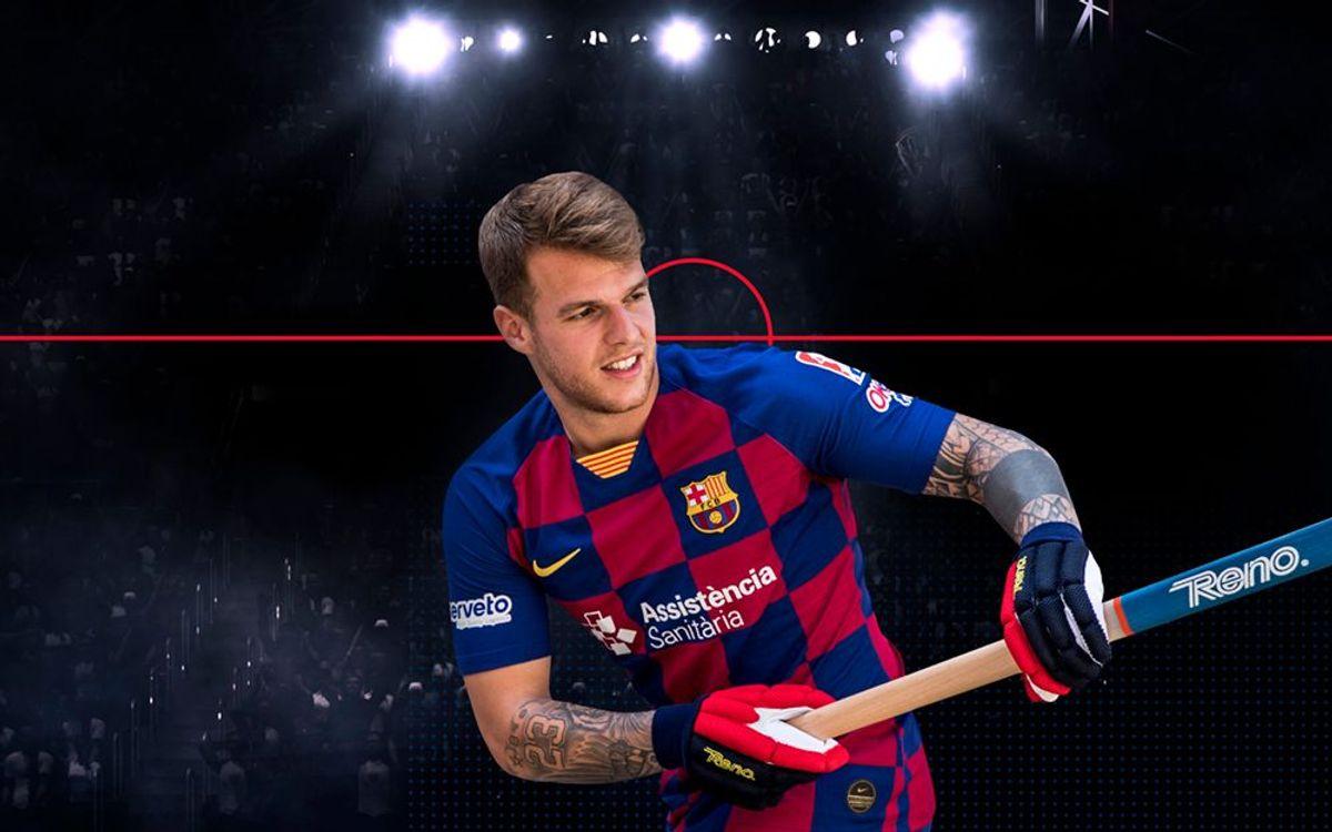 Helder Nunes s'incorpora al primer equip del Barça d'hoquei