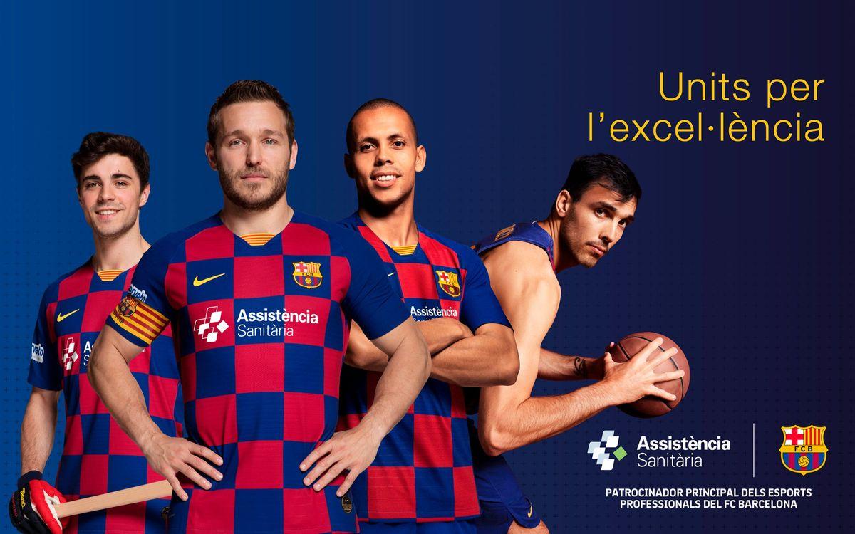 Assistència Sanitària becomes main partner of Barça's professional sports teams