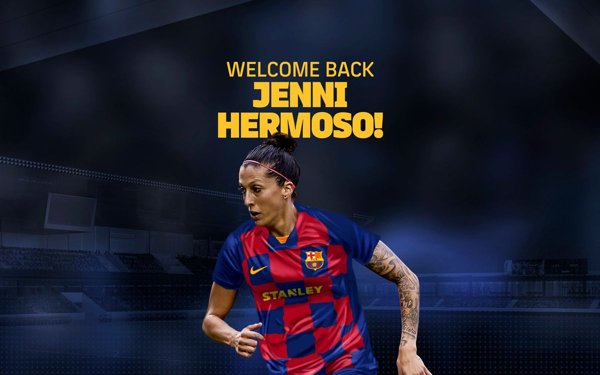 Jennifer Hermoso back at Barça