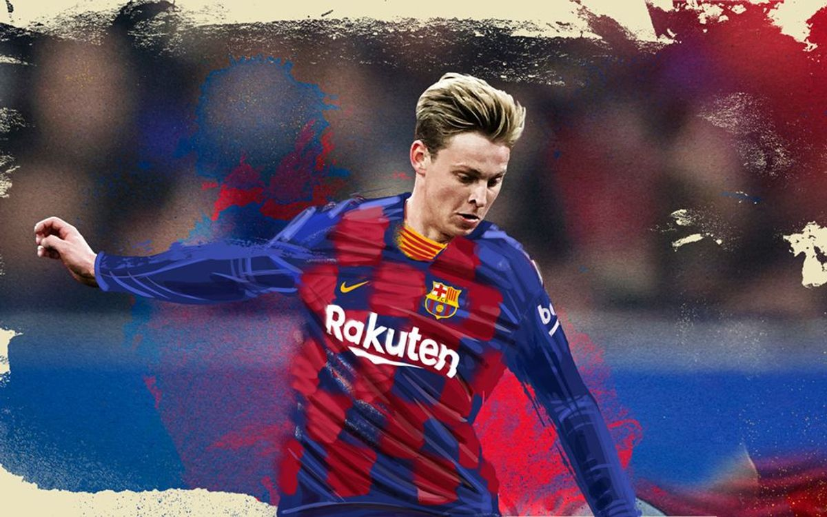 Friday 5 July Frenkie De Jong Official Presentation