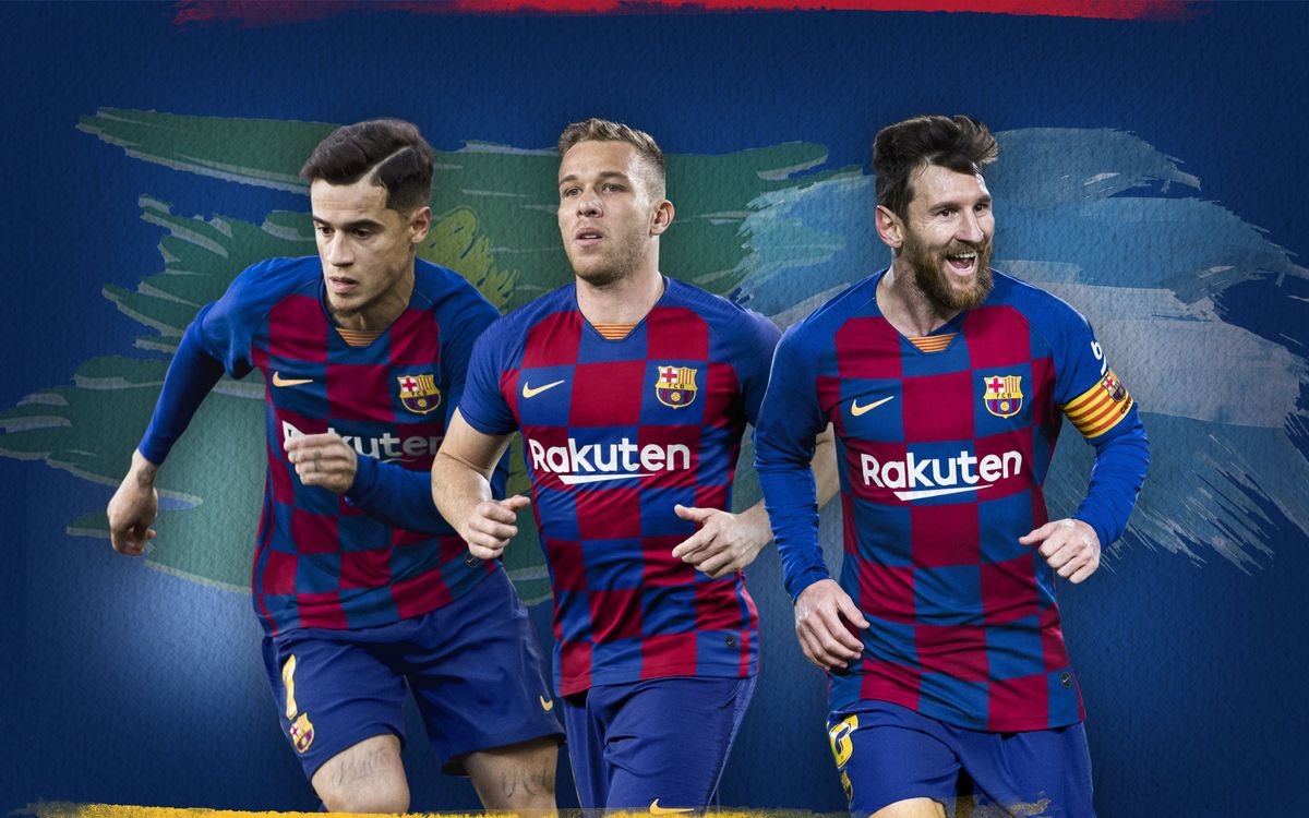 Messi, Coutinho and Arthur, face to face in the Superclásico