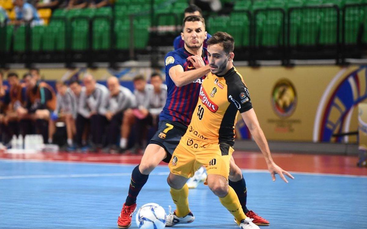 El Barça repite en la Intercontinental
