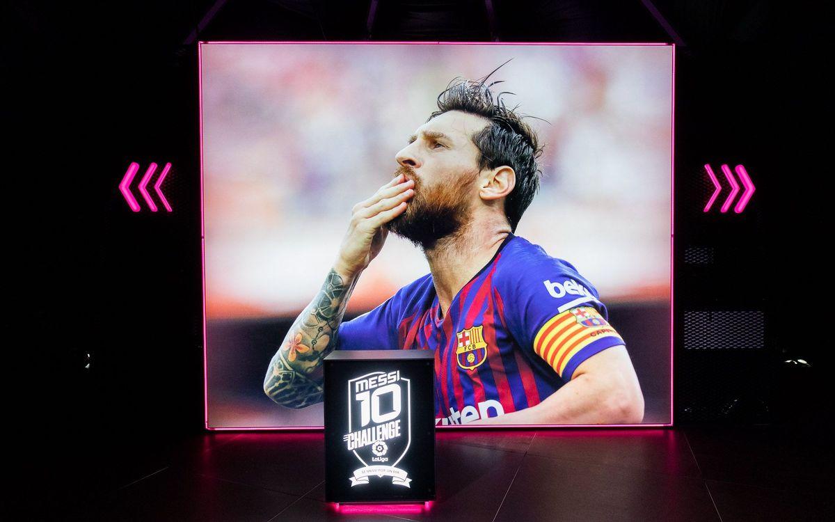 Vols ser Messi per un dia?