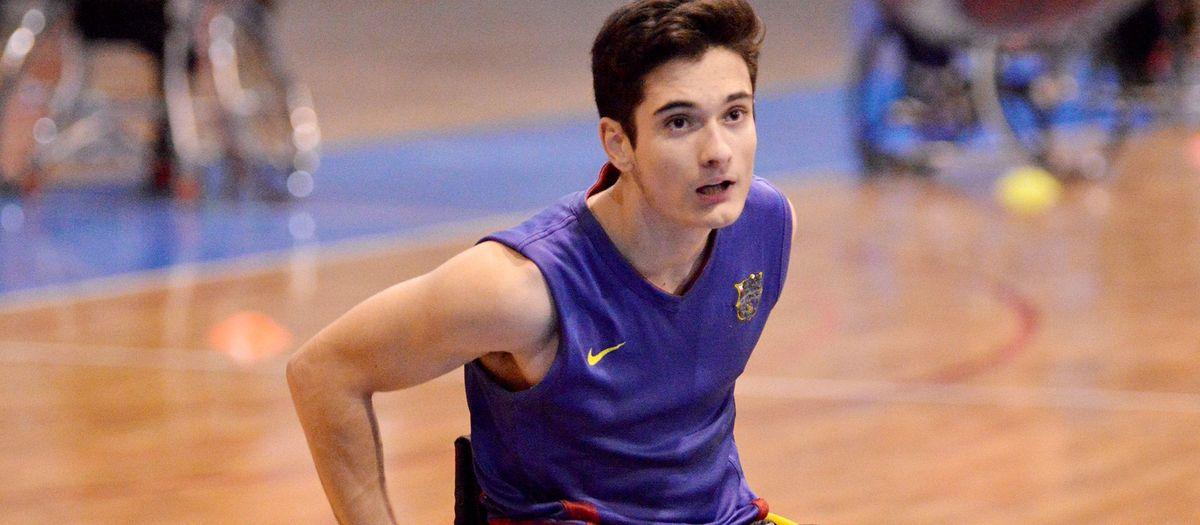 Biel Carbó, en el cinc ideal del campionat d'Espanya d'escoles