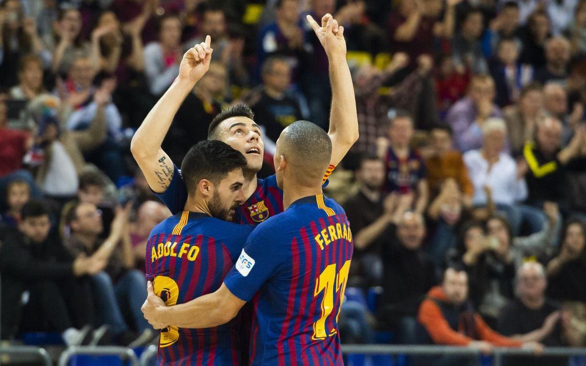 L'Ayat, el Tyumen i el Vytis, rivals del Barça a la Main Round