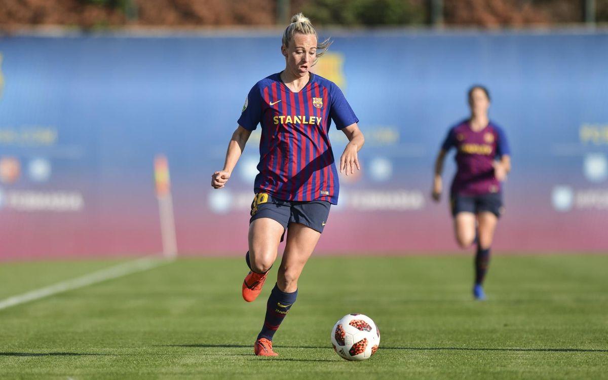 Toni Duggan leaves FC Barcelona