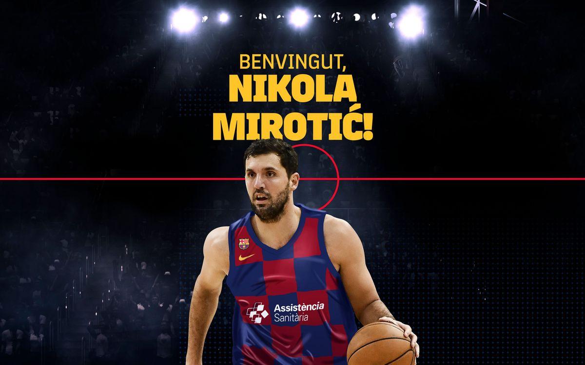 Nikola Mirotic, una estrella europea per al Barça