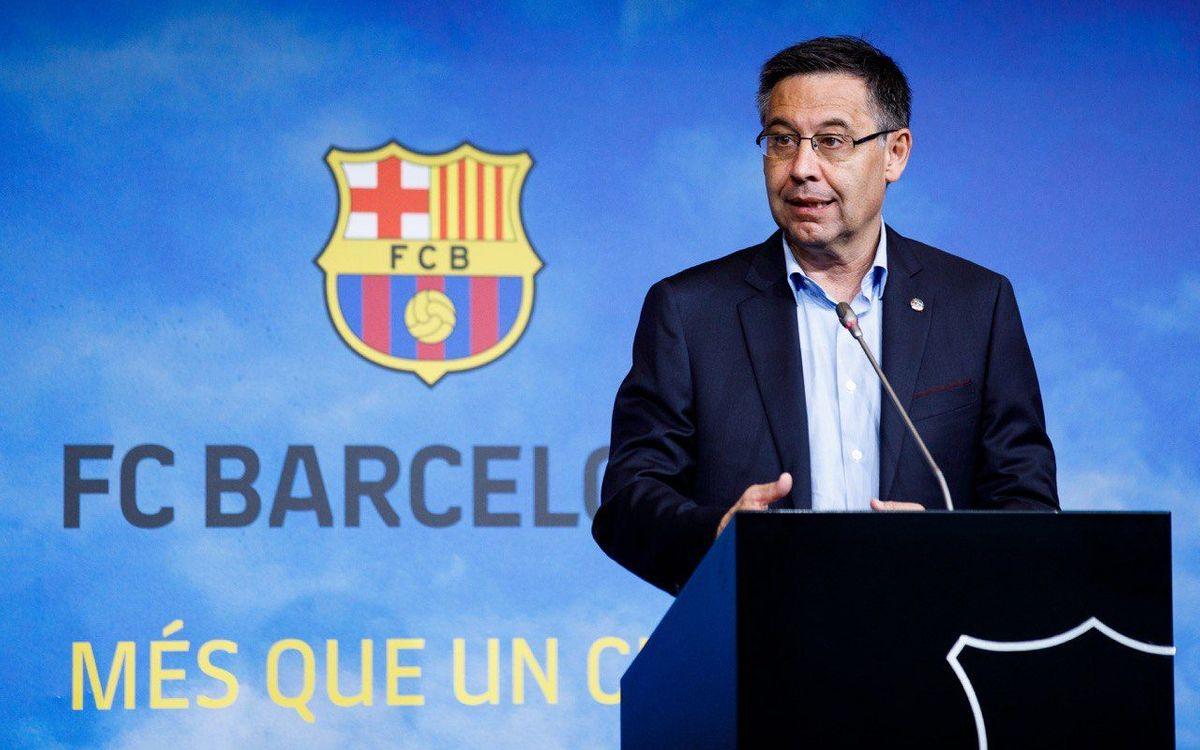 """Josep Maria Bartomeu: """"Griezmann interests us"""""""