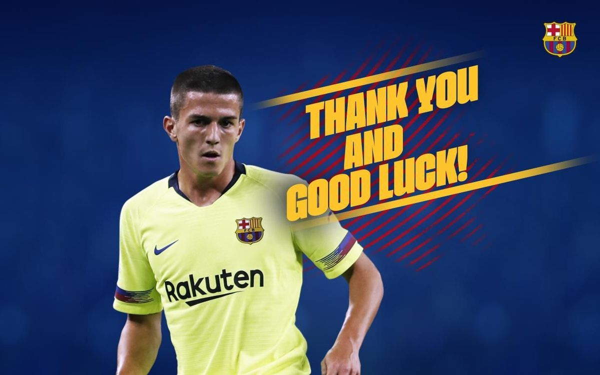 Agreement with Saint-Etienne for transfer of Sergi Palencia
