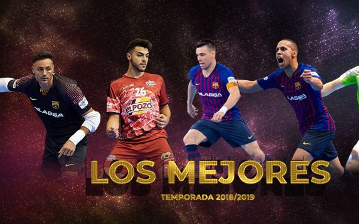 Ferrao, Lozano, Juanjo y Plaza, 'Los Mejores de la Temporada'