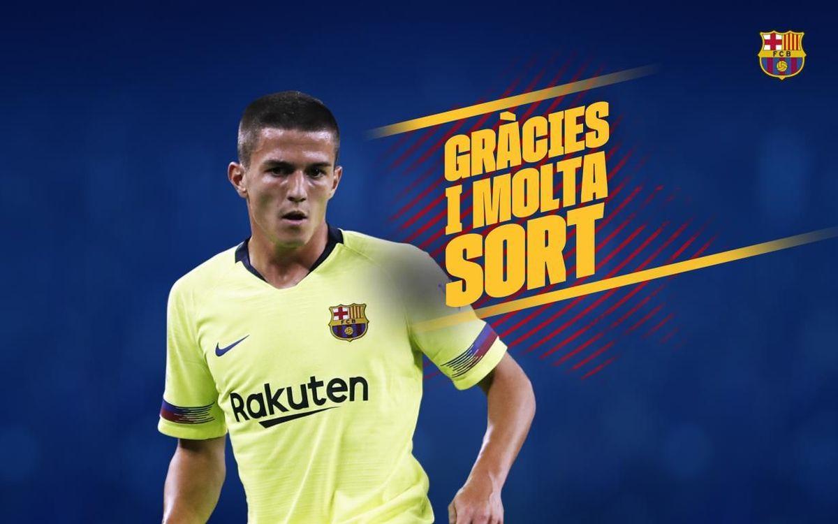Acord amb el Saint-Étienne pel traspàs de Sergi Palencia