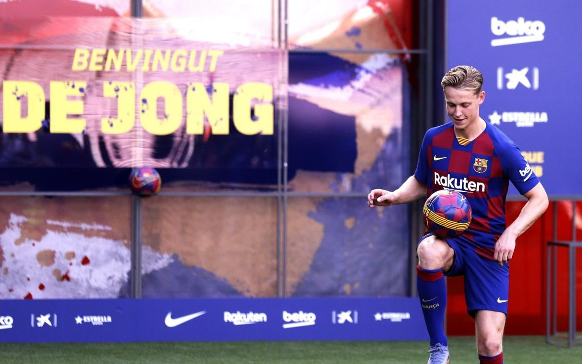 De Jong The Decision To Come To Fc Barcelona Was Very Easy