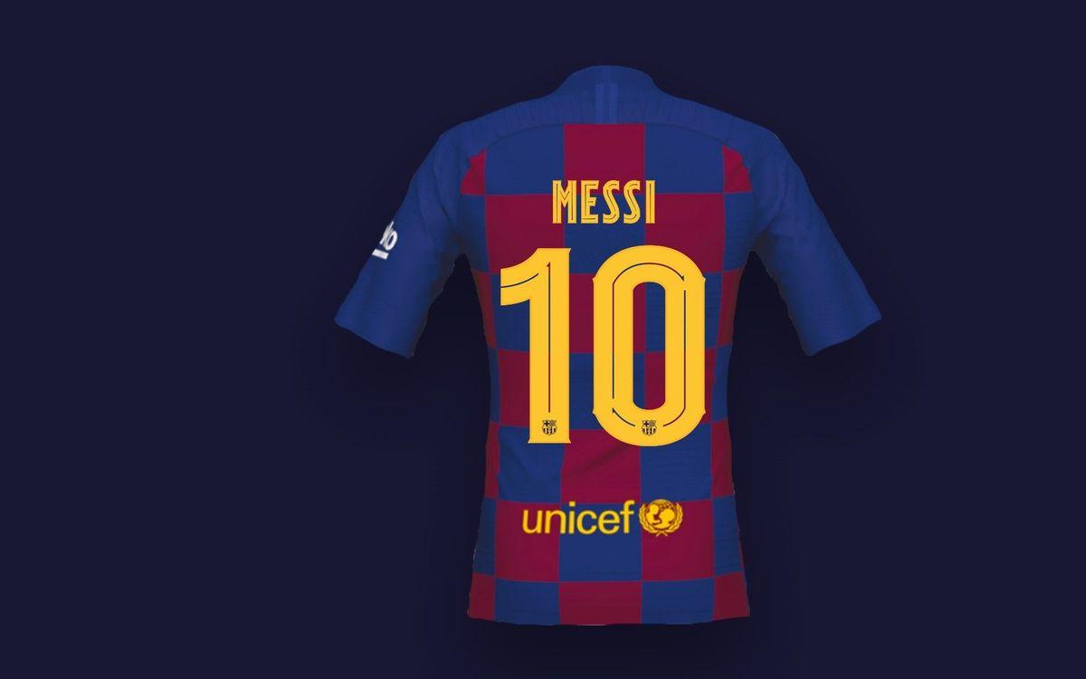 El Barça estrena tipografía propia, la FC Barcelona Play
