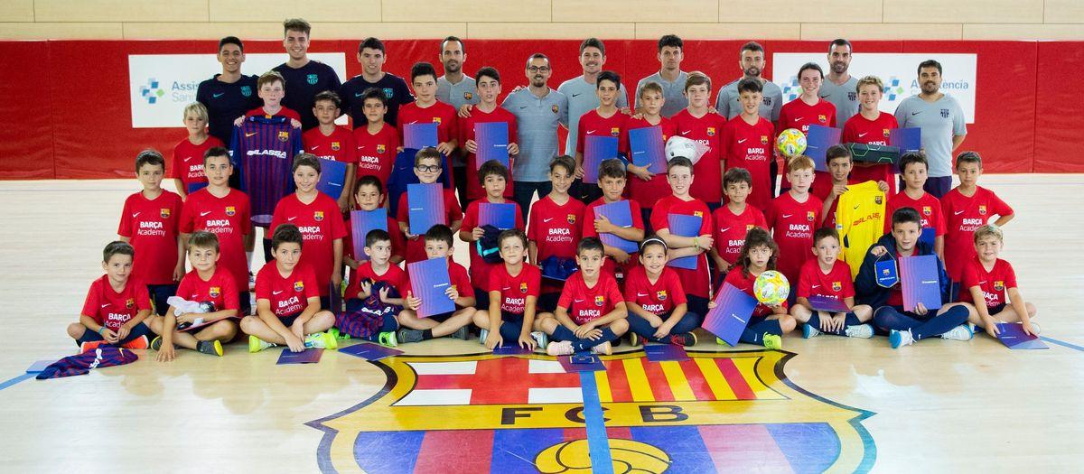 Campus Barça Fútbol Sala: Hasta el año que viene