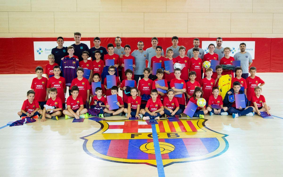 Campus Barça Futbol Sala: És l'hora dels adeus!!