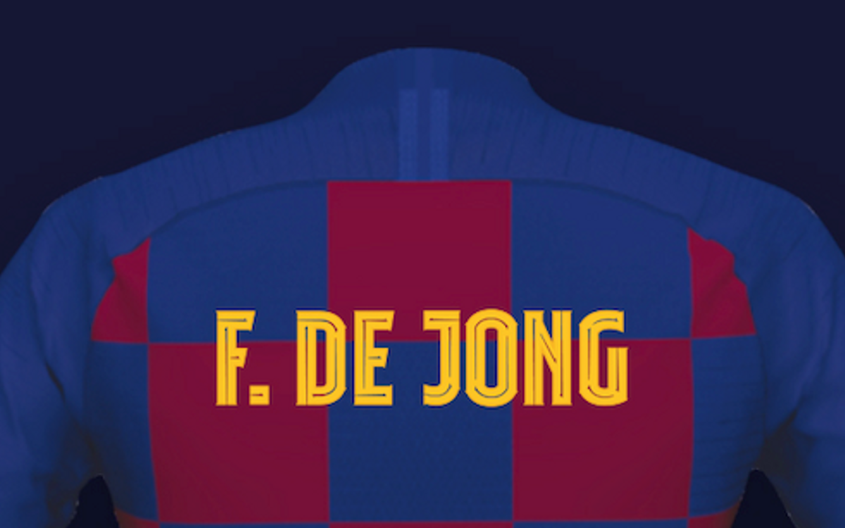 Barça showcase their own typography, FC Barcelona Play