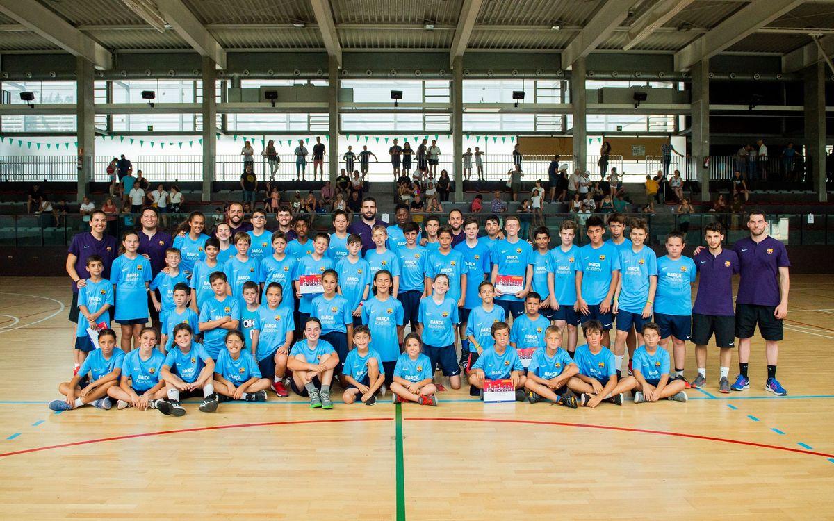 Fi de festa del Campus Barça de Bàsquet