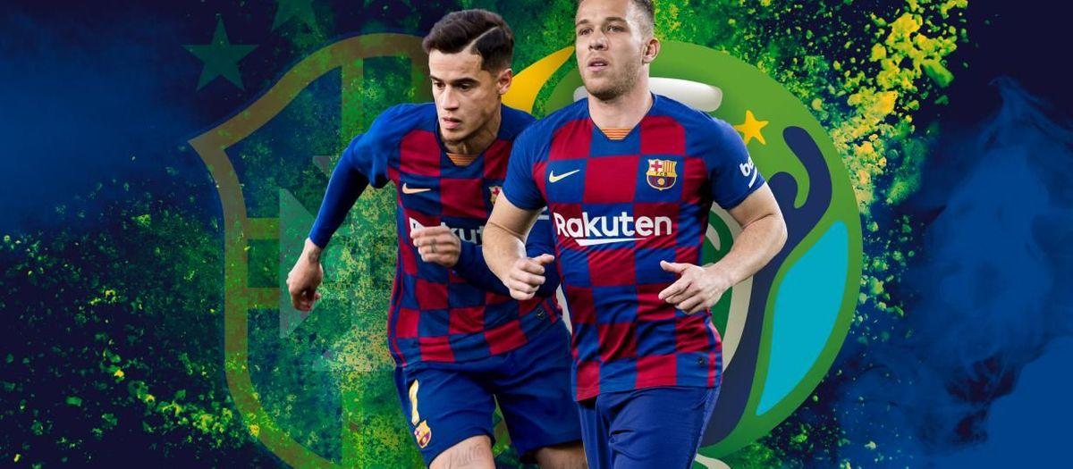 ¡Coutinho y Arthur, campeones de la Copa América!