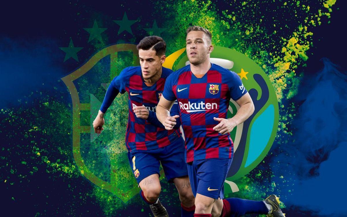 Coutinho i Arthur, campions de la Copa Amèrica!