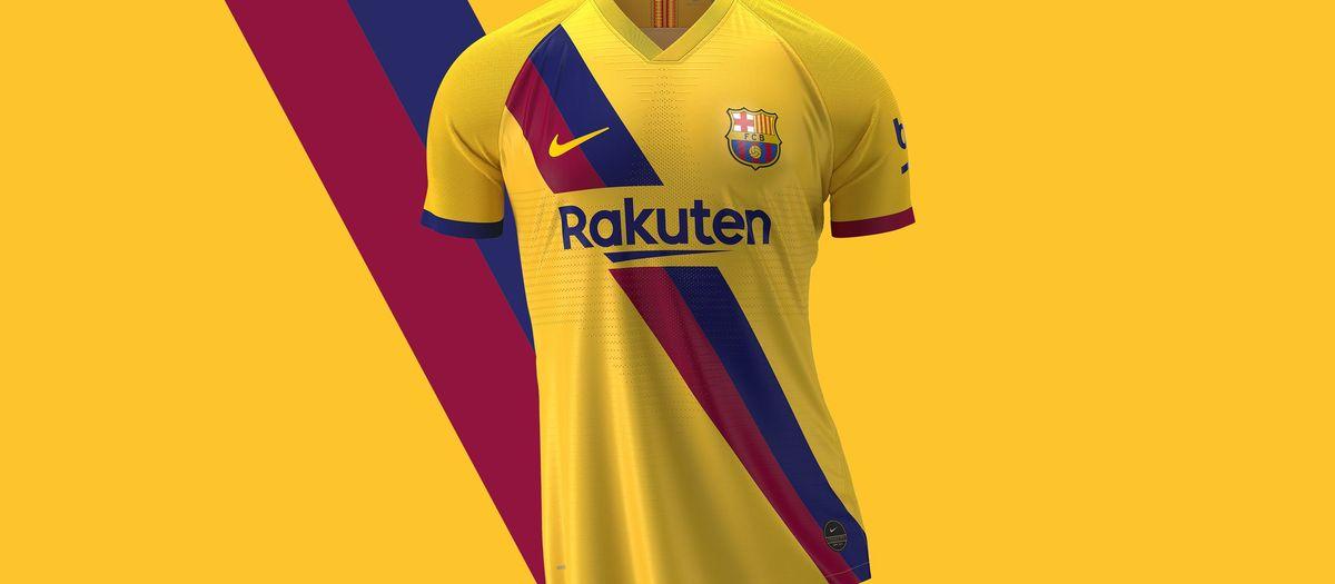 La segunda camiseta del Barça recupera el diseño de 1979 en homenaje a la Masía con motivo del 40º aniversario