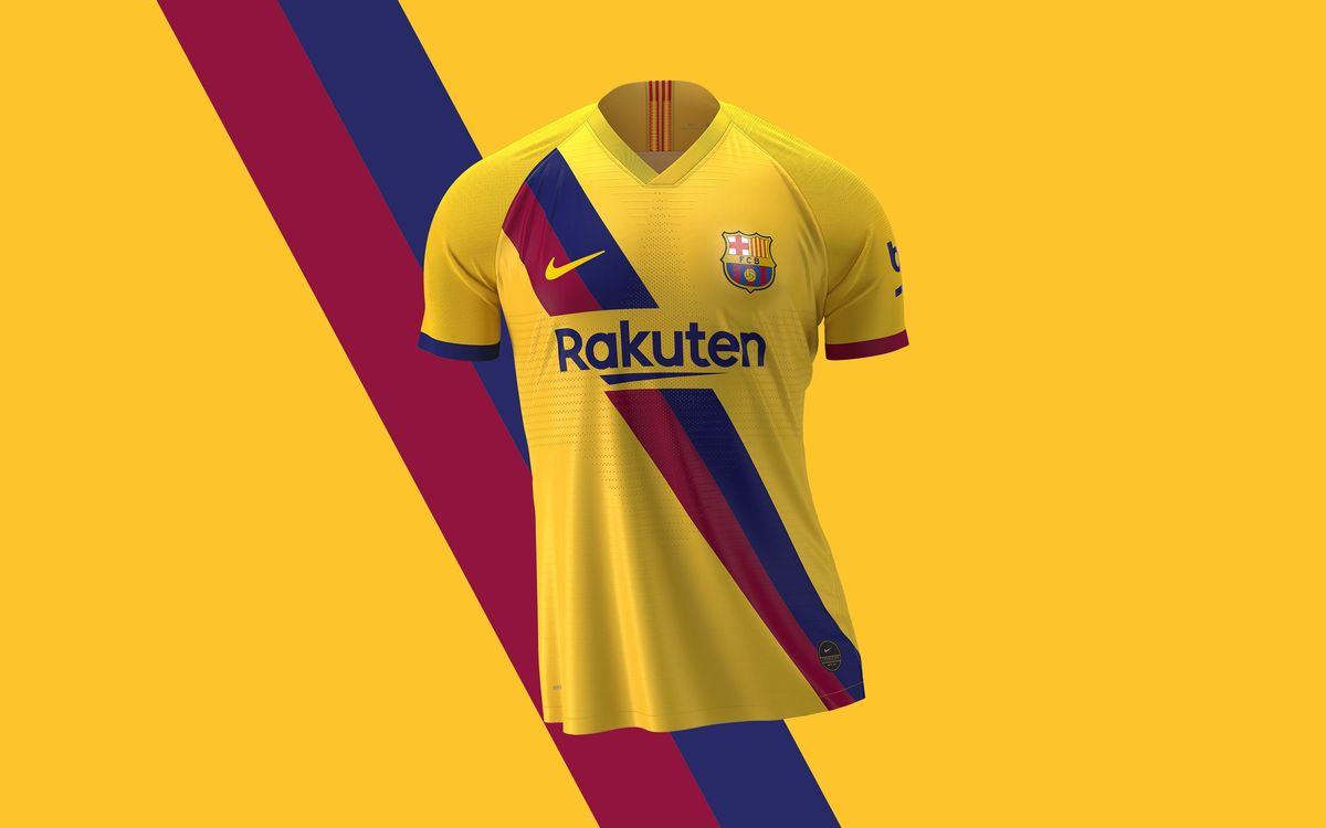 100% authentic 4a66b 121ed Barça away kit to bring back 1979 design, in homage to La ...