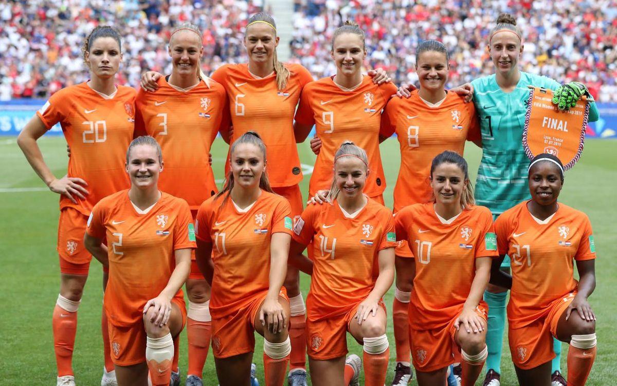 Martens and Van der Gragt, World Cup runners-up