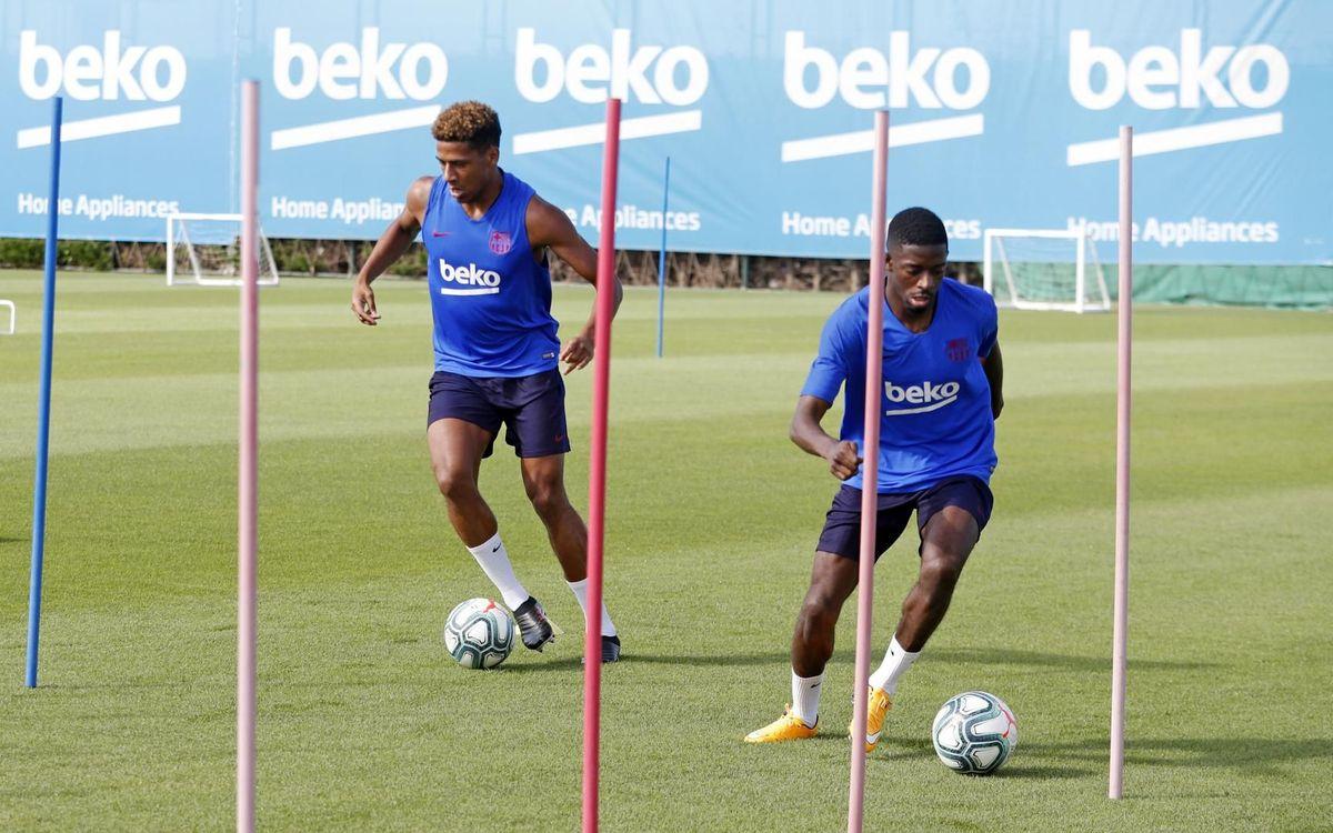 Dembélé et Todibo avancent leur début de saison avec le Barça