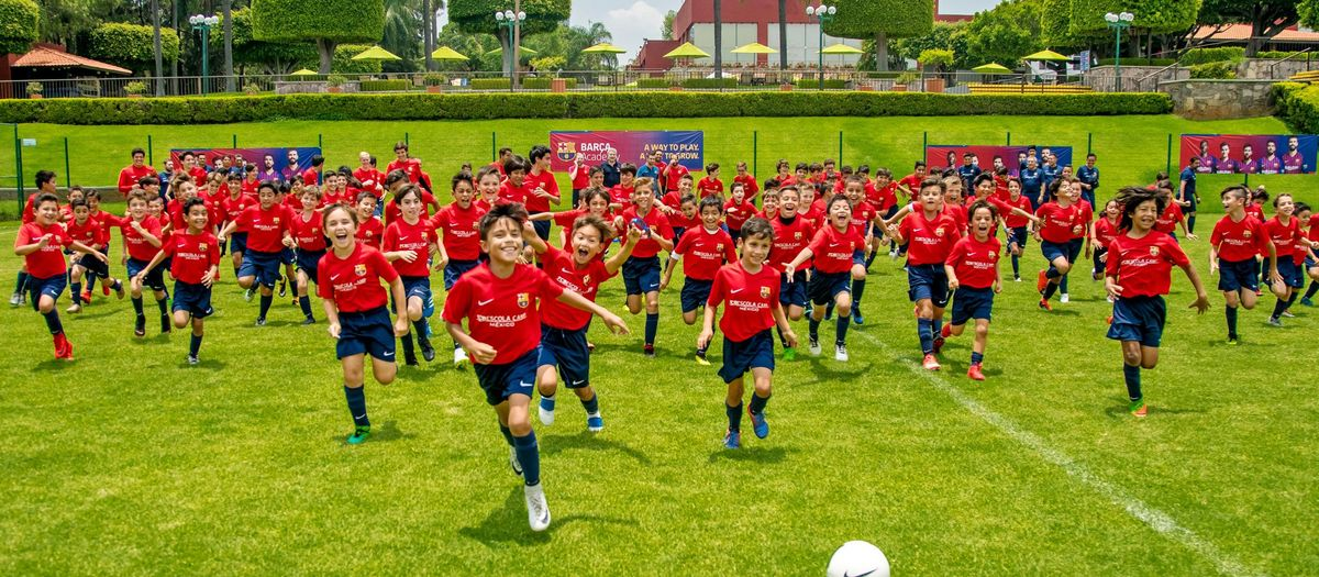 Barça Academy project extends to Mexico City