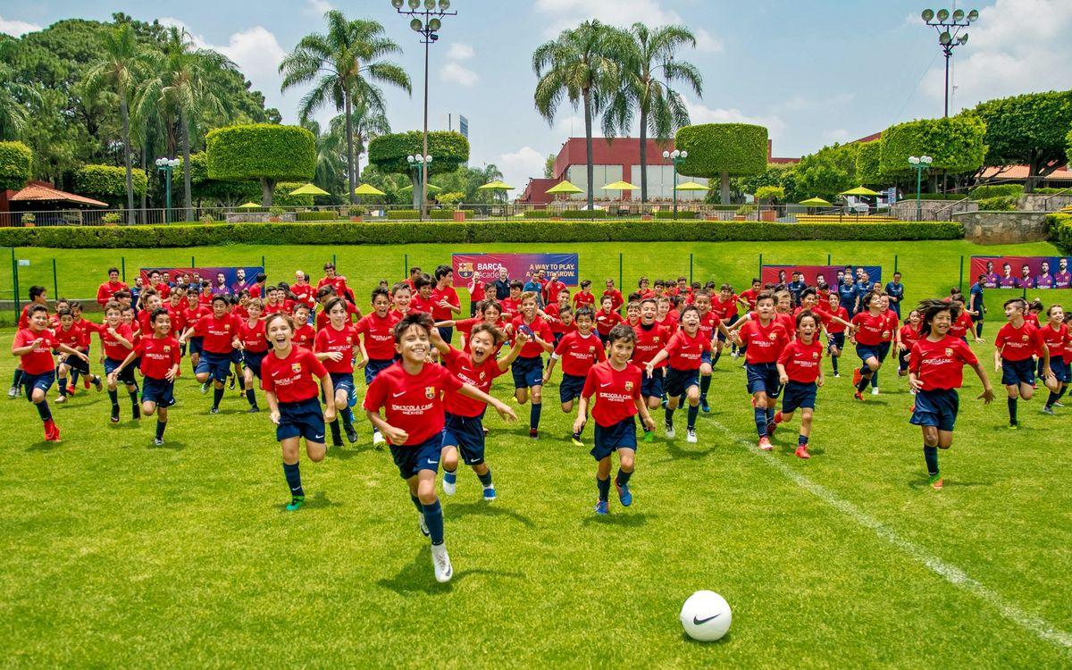 El proyecto Barça Academy desembarca en Ciudad de México