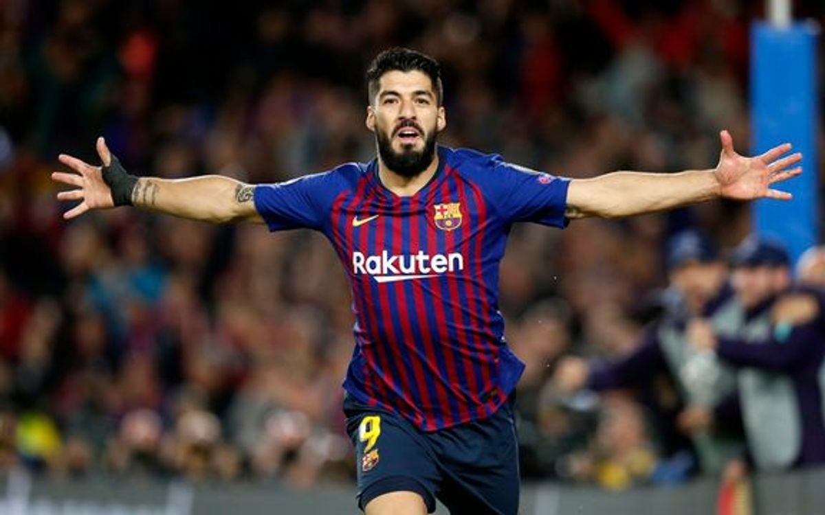 Image result for Luis suarez  LAST SEASON FOR BARCA