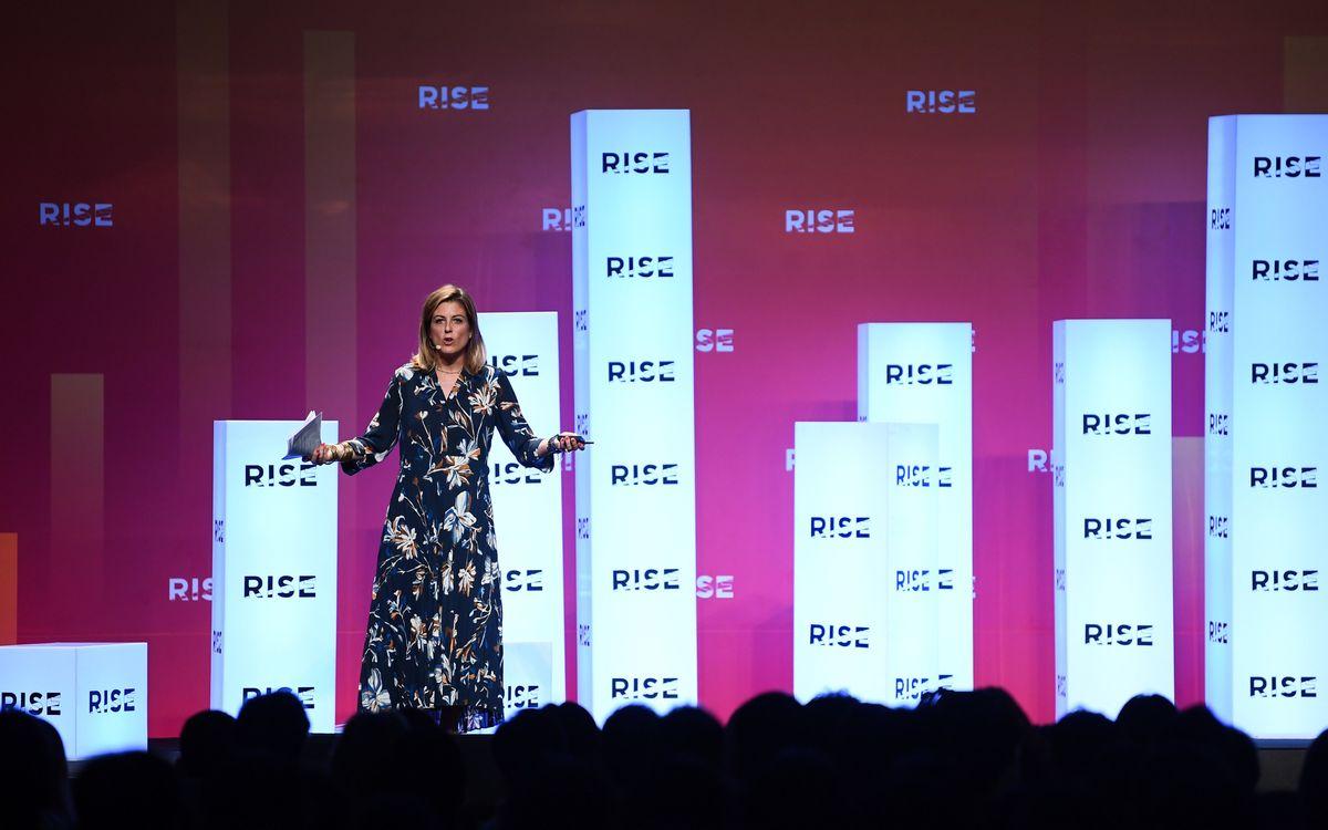 Marta Plana habla del Barça Innovation Hub en el RISE Technology Conference Hong Kong, la conferencia tecnológica de relevancia en Asia