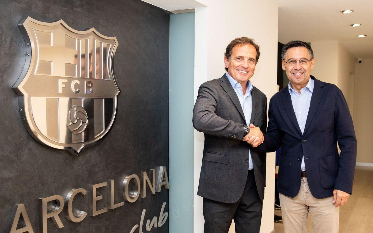 El Barça y Barcelona Global trabajarán conjuntamente para fortalecer el posicionamiento de la ciudad en el mundo