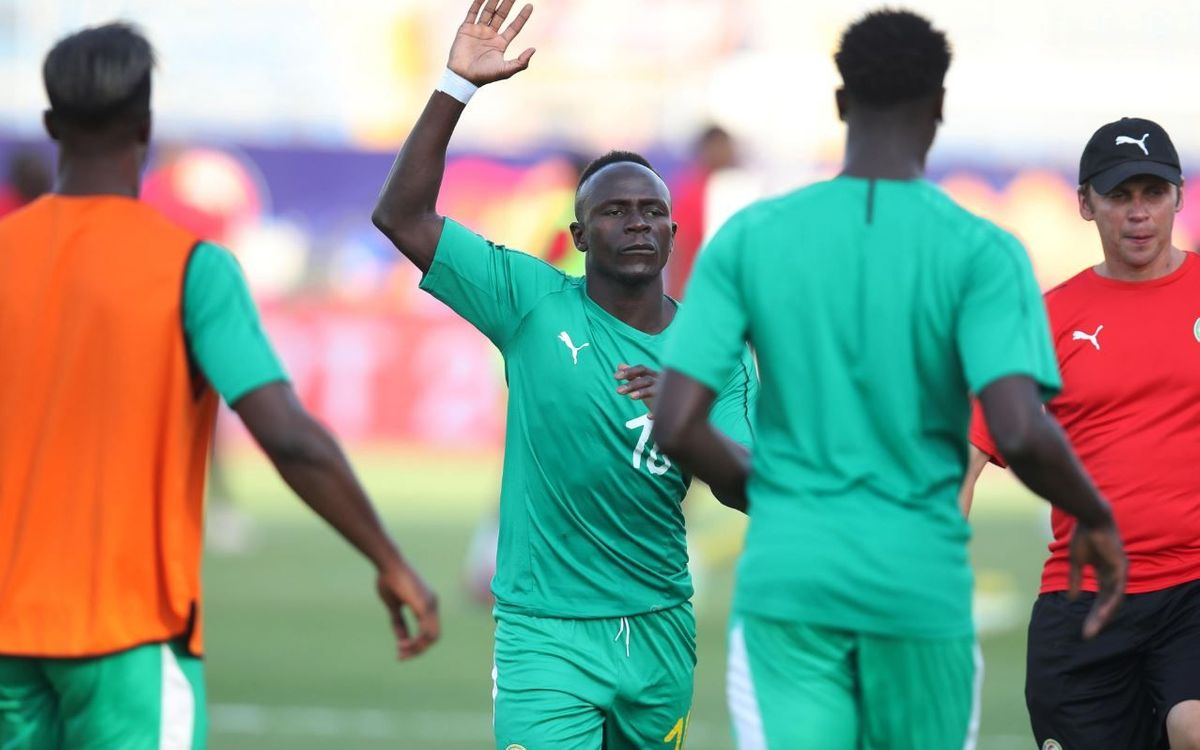 Wagué and Senegal qualify for the semis