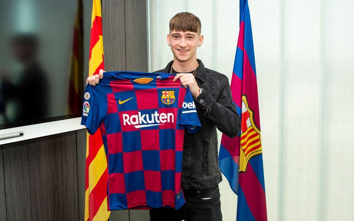 Louie Barry s'incorpora al Barça
