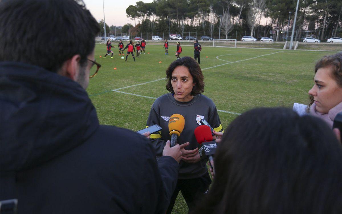 """Natàlia Arroyo: """"La ABJ puede aportar mucho al Club"""""""